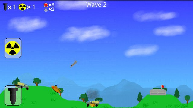 Atomic Bomber screenshot